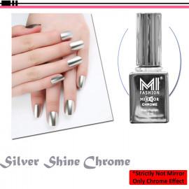 MI FASHION Mirror Chrome Nail Polish Combo Set of 2, 12 ml Each <small>(Shipping Per: MK95.00)</small>