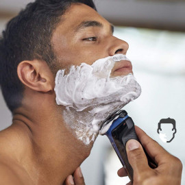 Philips S1030/04 Wet and Dry Electric Shaver (Black) <small>(Shipping Per: MK617.75)</small>