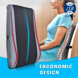 JSB BS22 Back Rest Support Cushion for Office Chair and Car Seat <small>(Shipping Per: MK963.45)</small>