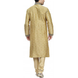 Manyavar Men's Blended Kurta & Churidar <small>(Shipping Per: MK1,040.90)</small>
