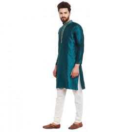 Sojanya Men's Cotton Silk Kurta  <small>(Shipping Per: MK1,726.25)</small>