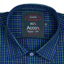 ACCOX Men's Cotton Half Sleeves Formal <small>(Shipping Per: MK728.90)</small>