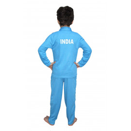 KAKU FANCY DRESSES Kids India Cricket Team National Hero Costume for Independence Day/Republic Day/Annual Function/Theme Party/Competition/Stage Shows Dress <small>(Shipping Per: MK89.25)</small>