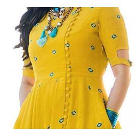 Asha Print Women's Rayon Embroidered <small>(Shipping Per: MK1,329.35)</small>
