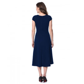 AARA Women's High Low Fit &Flare Dress <small>(Shipping Per: MK1,177.40)</small>
