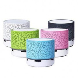 EASYSHOPEE LED Bluetooth Mini Speakers with Handsfree Calling, FM Radio, Deep Bass Audio and SD Card Support <small>(Shipping Per: MK629.45)</small>