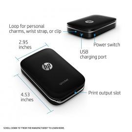 HP Sprocket Portable Photo Printer (Black) <small>(Shipping Per: MK1,399.95)</small>