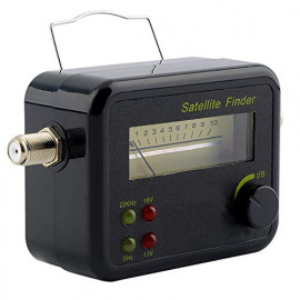 DBC Satellite Signal Finder Meter for Any Sat Dish LNB DIREC TV Dish Network, SF-9506, SF-95, SF-4A (BY TRP TRADERS) <small>(Shipping Per: MK49.95)</small>