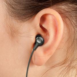 JBL C200SI in-Ear Headphones with Mic (Gun Metal) <small>(Shipping Per: MK122.45)</small>