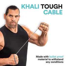 Mivi UC6BK-BK Khali Tough Micro USB Cable - 6 Feet (1.8 Meters) - (Black) <small>(Shipping Per: MK67.45)</small>