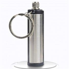 Leoie Steel Fire Starter Flint Match Lighter Keychain Camping Emergency Survival Gear <small>(Shipping Per: MK71.05)</small>