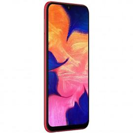 "Samsung Galaxy A10 (32GB, 2GB RAM) 6.2"" HD+ Infinity-V Display, Global 4G LTE GSM Factory Unlocked A105M (International Model w/ 32GB MicroSD Bundle) (Red) <small>(Shipping Per: MK8,947.70)</small>"