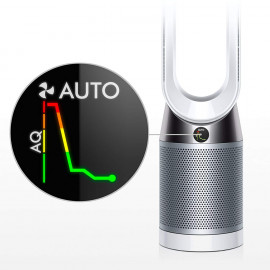 Dyson Pure Cool Air Purifier (Advanced Technology), Wi-fi & Bluetooth Enabled, Tower TP04 (White/Silver) <small>(Shipping Per: MK22,593.20)</small>