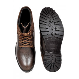 Allen Cooper Men's High Ankle Brown <small>(Shipping Per: MK1,178.90)</small>