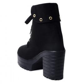 Klaur Melbourne Women Black Boots 556 <small>(Shipping Per: MK1,427.50)</small>