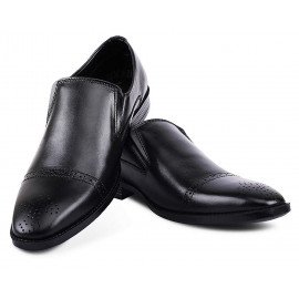 Kanprom Men's Black Genuine Leather <small>(Shipping Per: MK22,849.35)</small>