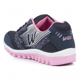 Asian shoes Riya 21 Navy Blue Pink Women Sports Shoes <small>(Shipping Per: MK312.50)</small>