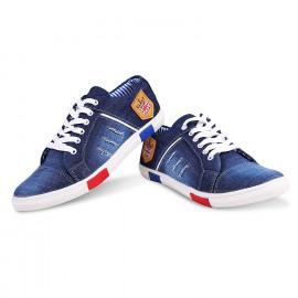ZOVIM Men's Blue Denim Sneaker- 9 <small>(Shipping Per: MK258.00)</small>