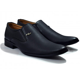feetway Men's Leather Formal Shoes Black <small>(Shipping Per: MK524.30)</small>