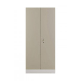 GODREJ INTERIO Slimline 2-Door Almirah with 4 Shelves (Glossy Finish, Royal Ivory) <small>(Shipping Per: MK7,701.80)</small>
