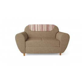 GODREJ INTERIO Petal Two Seater Sectional Sofa (Sand Beige) <small>(Shipping Per: MK9,606.75)</small>