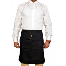 Switchon Branded Waterproof Black Apron <small>(Shipping Per: MK148.40)</small>