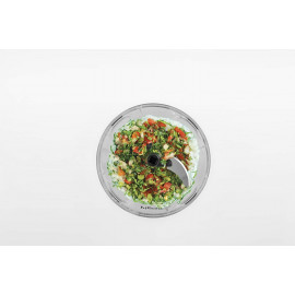 Pigeon by Stovekraft Handy Mini Plastic Chopper with 3 Blades, Grey <small>(Shipping Per: MK77.40)</small>