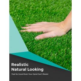 CHETANYA High Density, Artificial Grass, Artificial Grass Carpet,Mat for Balcony, Lawn, Floor Mat,Foot Mat, Doormat (3 Feet x 6.5 Feet). <small>(Shipping Per: MK2,343.20)</small>
