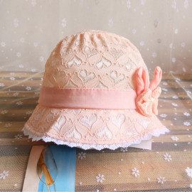Jonerytime_Clothing Shoes & Accessories Baby Girl's Easter Summer Cartoon Hat Infant Peach Heart Printing Cap Suitable for 0-3Years Old Orange <small>(Shipping Per: MK178.45)</small>