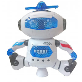 Popsugar Robot Top-Dance Digital Warrior 09 with Flashing Lights and Music (White,THRBFX2865) <small>(Shipping Per: MK998.15)</small>