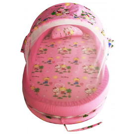 Nagar International Baby Mattress Nt-06 Pink with Mosquito net and Bumper Guard New Born to 18 Months Baby <small>(Shipping Per: MK26,233.90)</small>