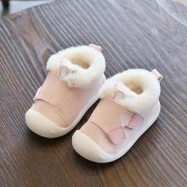 Saingace 0-3 Years Toddler Baby Boys Girls Anti-Slip Sneaker Warm Fluffy Running First Walking Prewalker Shoes <small>(Shipping Per: MK392.65)</small>
