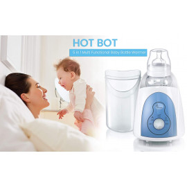 R for Rabbit Hot Bot Baby Bottle Warmer - The Multi-Function 5 in 1 Bottle Warmer Cum Sterilizer (White) <small>(Shipping Per: MK729.45)</small>