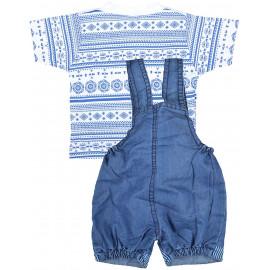 Kuchipoo Unisex Regular Fit Cotton Dungaree <small>(Shipping Per: MK678.40)</small>