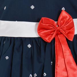 Wish Karo Baby Girls Frock Dress - Cotton - (ctn054nb) <small>(Shipping Per: MK928.45)</small>