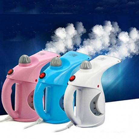 PETRICE Steamer Handheld Facial Steamer Fast Heat-up Portable Family Steam Brush (Colour May Vary) <small>(Shipping Per: MK0.55)</small>