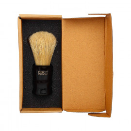 Pink Woolf Boar Bristles Shaving Brush, Perfect for Home & Travel <small>(Shipping Per: MK0.70)</small>