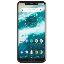 Motorola One XT1941-3 32B Unlocked GSM Dual-SIM Phone w/Dual 13+2 Megapixel Camera - White <small>(Shipping Per: MK9.25)</small>