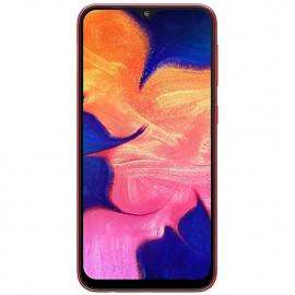 "Samsung Galaxy A10 (32GB, 2GB RAM) 6.2"" HD+ Infinity-V Display, Global 4G LTE GSM Factory Unlocked A105M (International Model w/ 32GB MicroSD Bundle) (Red) <small>(Shipping Per: MK7.00)</small>"