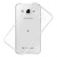 Exclusive Soft Silicone TPU Jelly Transparent Crystal Clear Case Soft Back Case Cover for Samsung Galaxy J7 J700F <small>(Shipping Per: 5 %)</small>