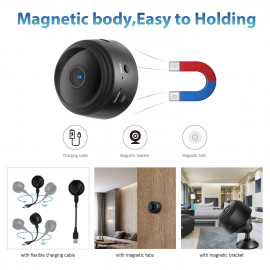 Cyperlink Mini Spy Camera WiFi Hidden Camera Wireless HD 1080P Indoor Home Small Spy Cam Security Cameras/Nanny Cam Built-in Battery with Motion... <small>(Shipping Per: MK3.85)</small>