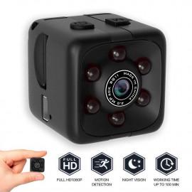 Misifeng Mini Micro SPY HD Cam Hidden Camera Dice Video USB DVR Recording SpyCam SQ11 (Black, one Size) <small>(Shipping Per: MK0.55)</small>