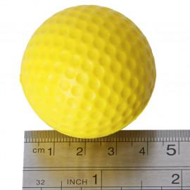 Generic Golf Ball Golf Training Soft Foam Balls Practice Ball - Yellow 10pcs-13006929MG <small>(Shipping Per: MK0.40)</small>