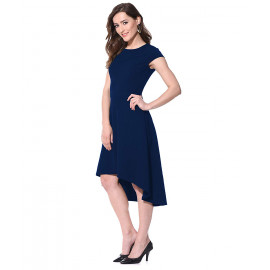 AARA Women's High Low Fit &Flare Dress <small>(Shipping Per: MK0.70)</small>