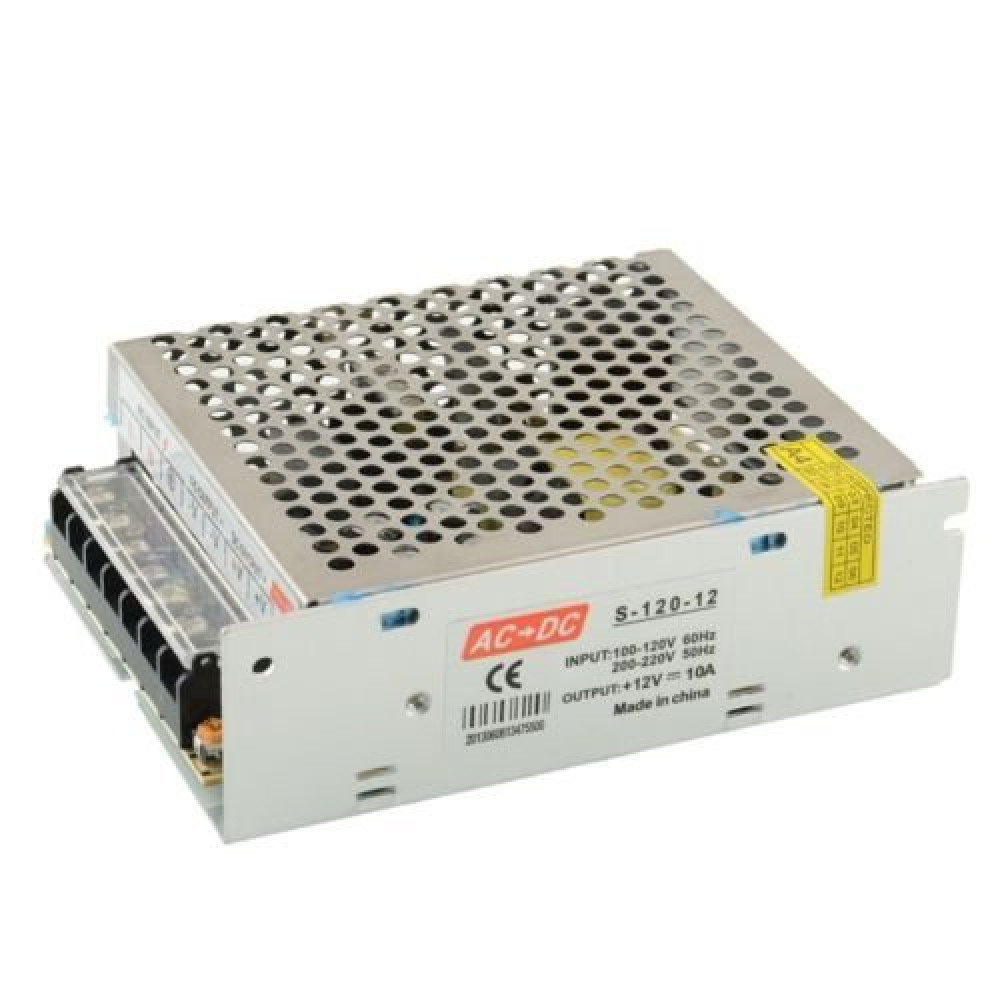 TRP TRADERS 120W DC Switch Power Supply for LED Strip/CCTV, <small>(Shipping Per: MK0.35)</small>