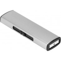 VTC USB Charging Flameless Cigarette Carbon-steel Lighter, Silver <small>(Shipping Per: MK0.60)</small>
