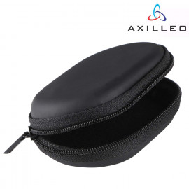 Axilleo MT-10 in-Ear Earphone with Mic | Mobile Phone Wired Headsets Stereo Sound and Hands-Free Mic - Black and Earphone Pouch <small>(Shipping Per: MK0.75)</small>
